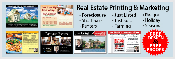 Real Estate Marketing Postcards