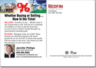 Real Estate Postcards, Redfin Postcard