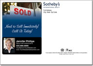 Real Estate Postcards, Sothebys Postcard