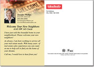 Real Estate Postcards, Welcome Neighbors Postcard