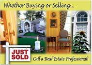 For Sale Sign Card, Real Estate Postcards
