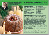 Christmas Recipe Postcard