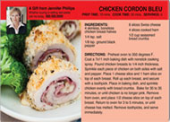 Realtor Chicken Recipe Postcard